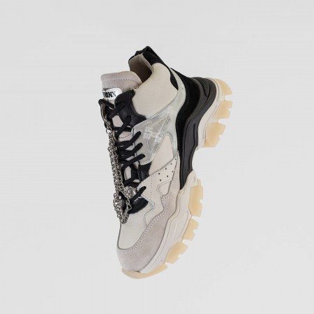 BRONX / Trainers / Tayke-Over High Top Black / Off White