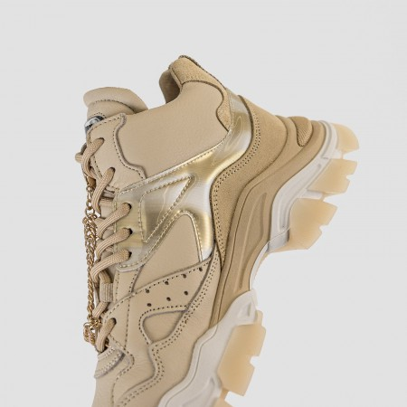 BRONX / Trainers / Tayke-Over High Top Camel