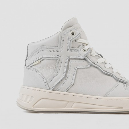 BRONX / Trainers / Old-Cosmo High Top Off White
