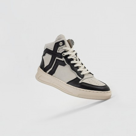 BRONX / Trainers / Old-Cosmo High Top Black/Off White