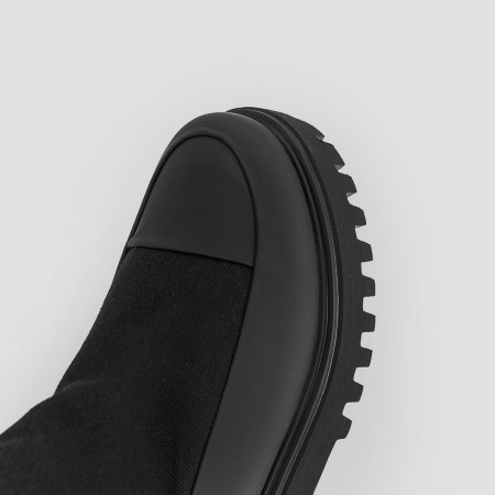 Americana High Leather Schwarz