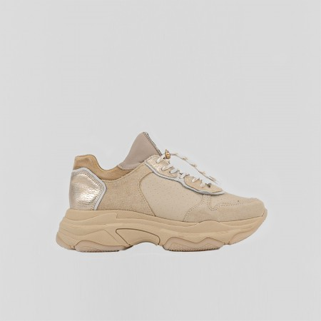 BRONX / Trainers / Baisley Camel / Gold