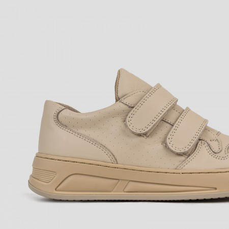 BRONX / Trainers / Old-Cosmo Camel Velcro