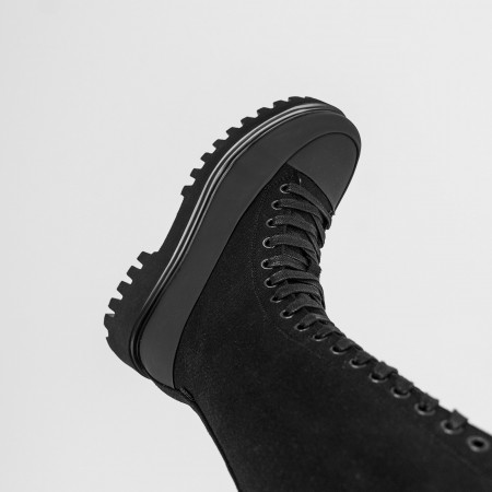 Tex-Chunky Black / White
