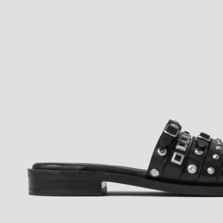 New-Americana Red with Studs