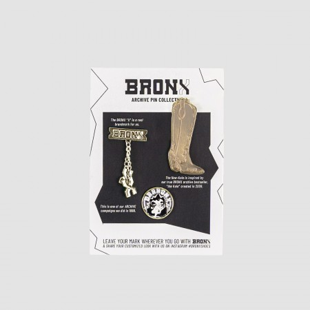 BRONX / BRONX XTRA / Archive pins no.3 goldplated